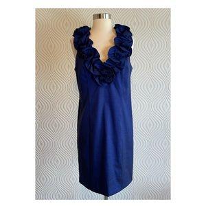 S.L. Fashions Blue Cocktail Dress, size 12